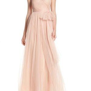 Jenny Yoo Convertible Tulle Dress- Cameo Pink